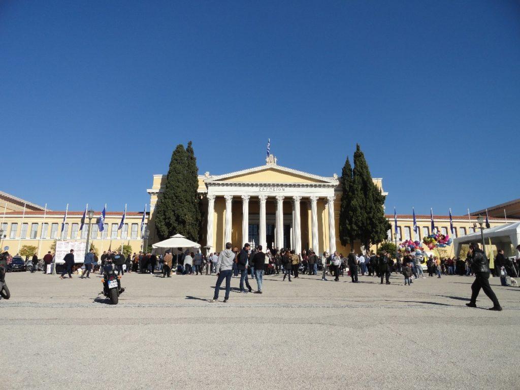 Zappeion Halle - 2 Tage Athen im Winter