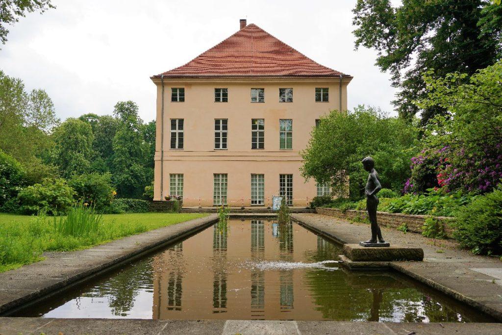 Seitenansicht Schloss Schönhausen