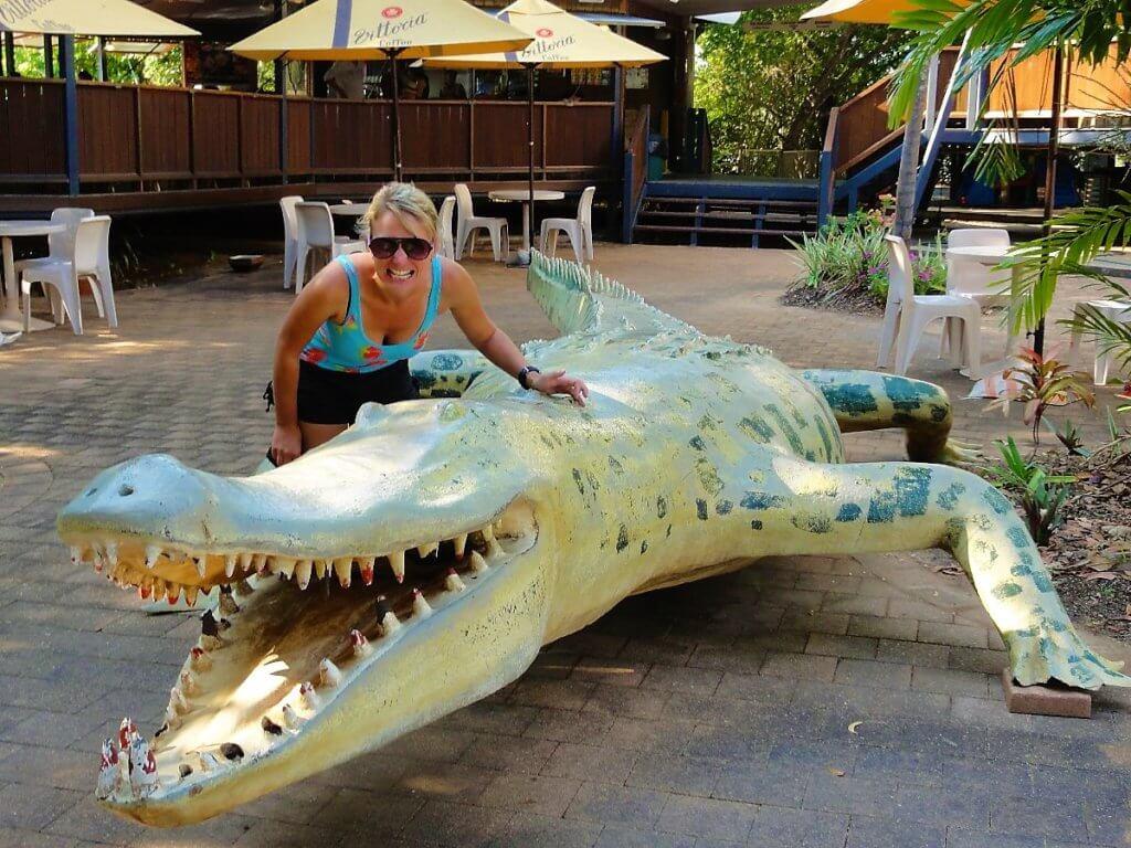 Krokodilfahrt