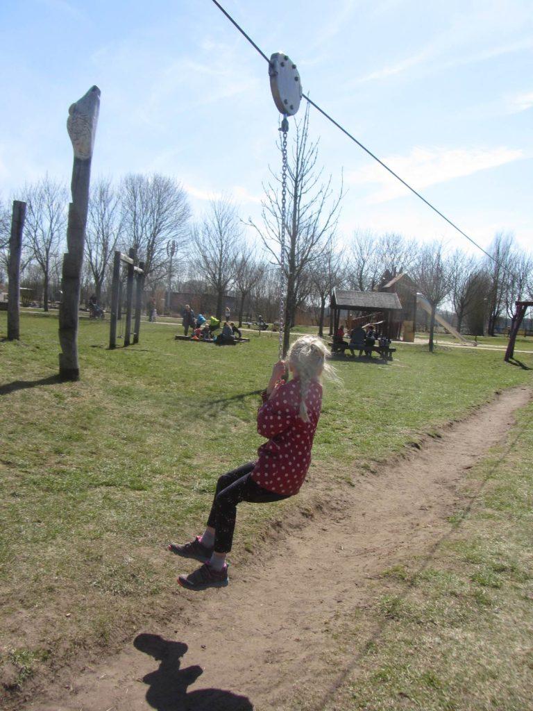Seilbahn im Erlebnispark Paaren