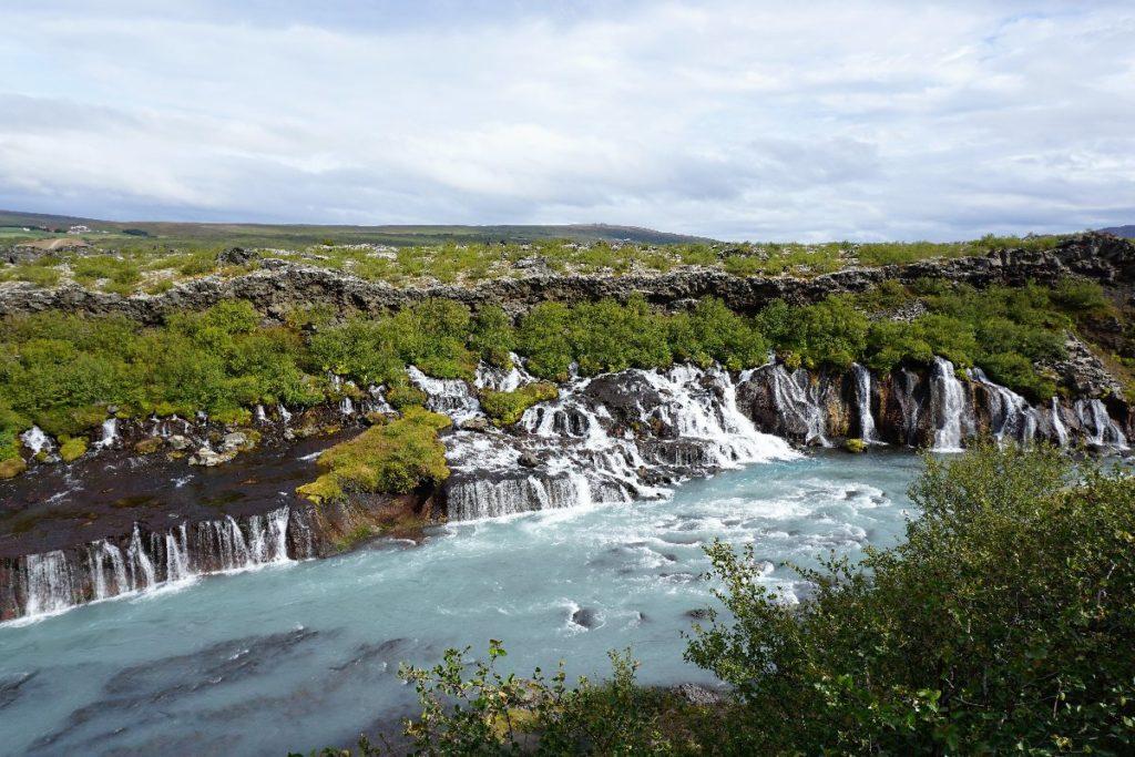 Branafoss Wasserfall Island
