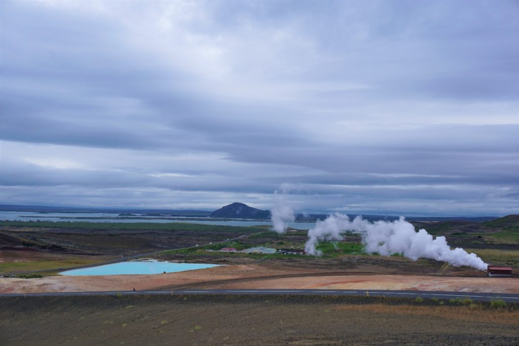 Dampf der Quellen