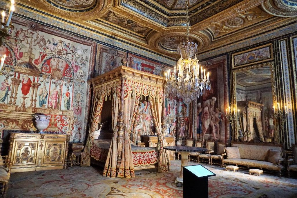 Schlafzimmer- Schloss Fontainebleau