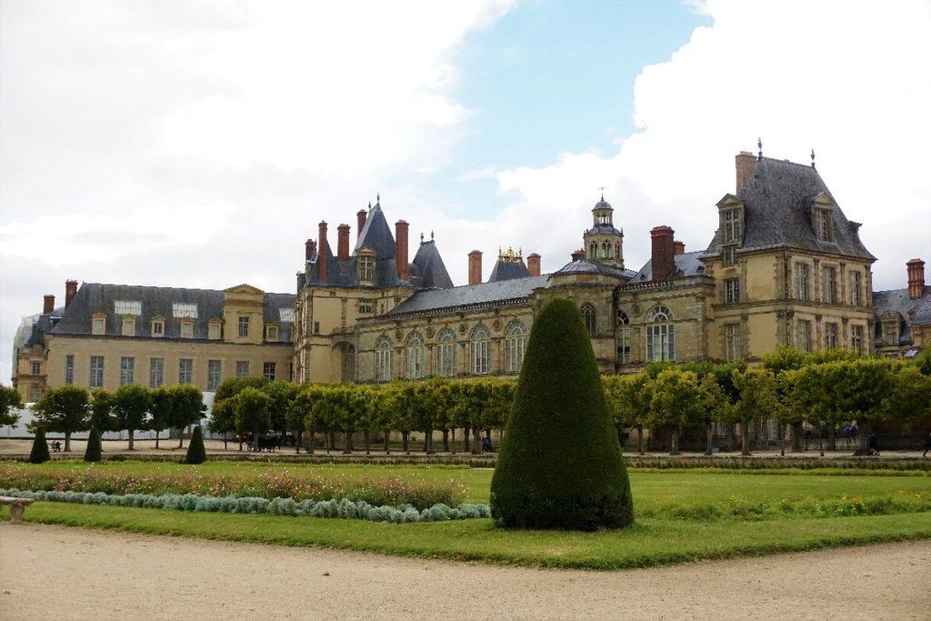 Grand Parterre Schloss Fontainebleau