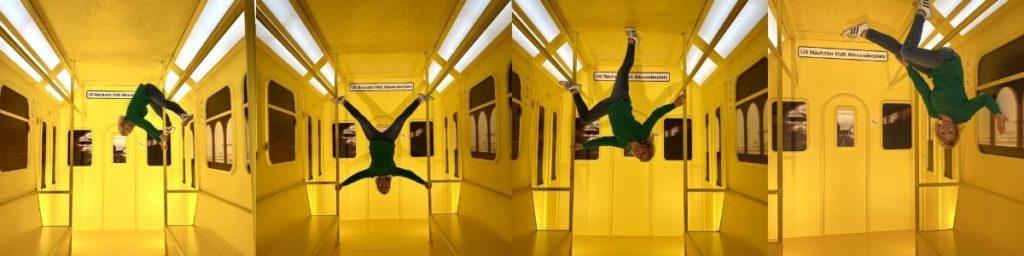 U-Bahn im Studio of Wonders Berlin