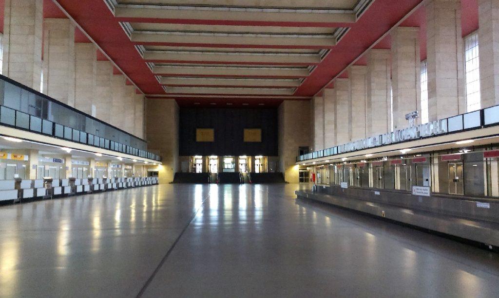 Flughafen Tempelhof Ausflugsziele Berlin bei schlechtem Wetter