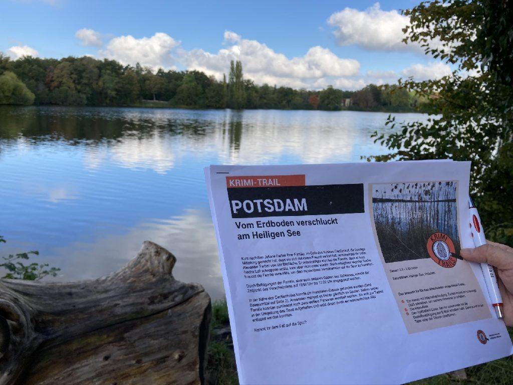 Spaziergang Potsdam mit Krimitrail