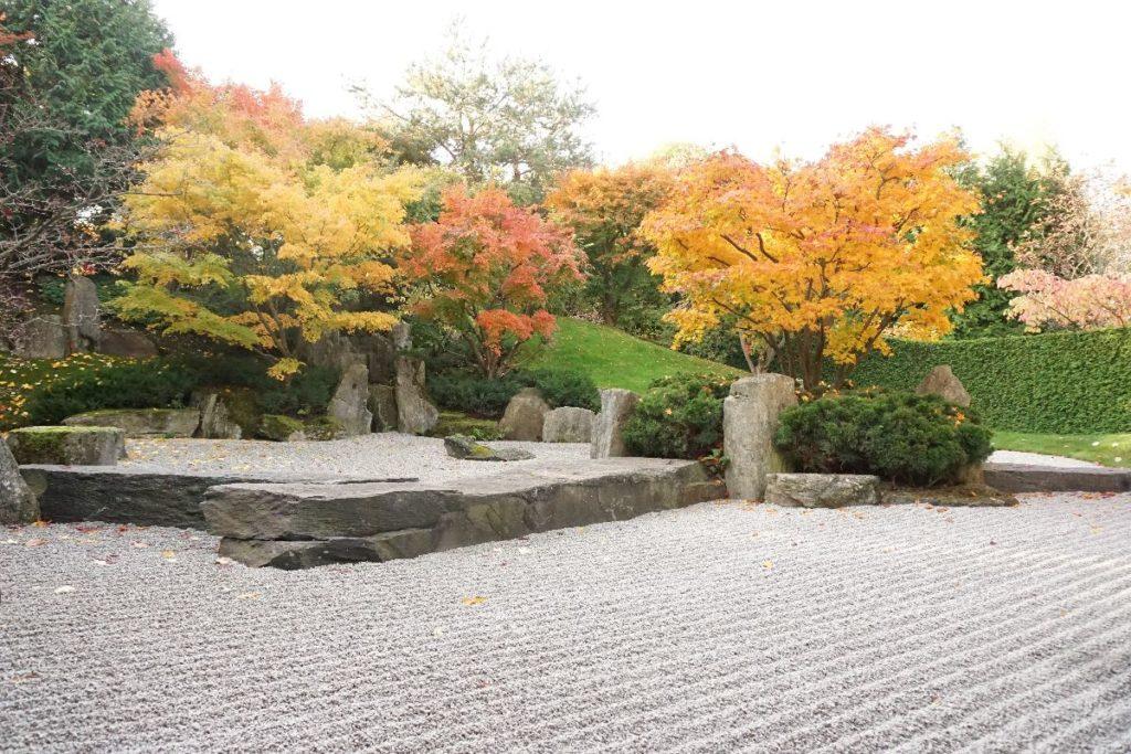 japanischer Garten im Gärten der Welt