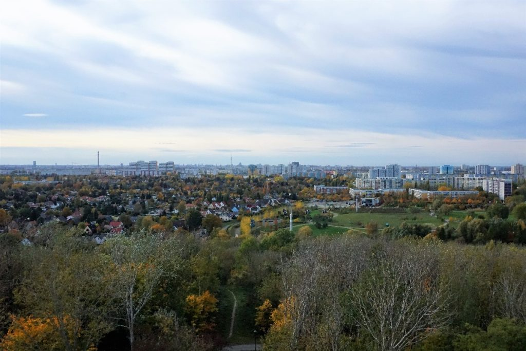 Blick über Berlin vom Wolkenhain
