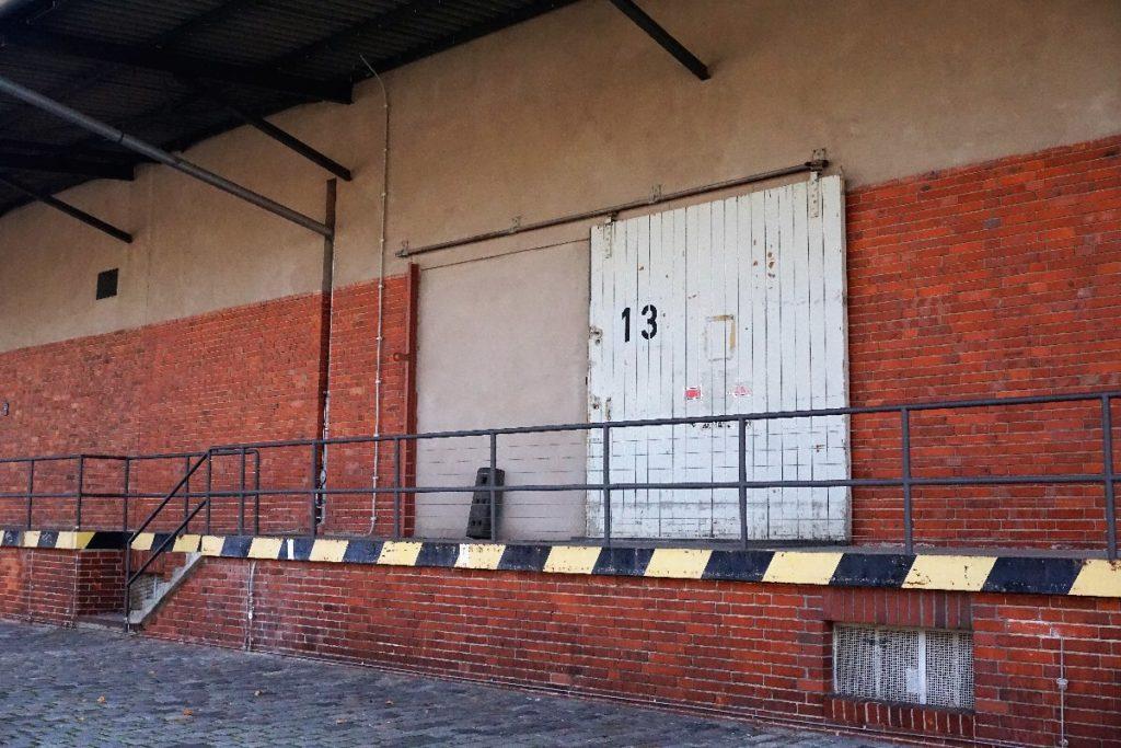 Lagerhalle 13 Gleisdreieck Park