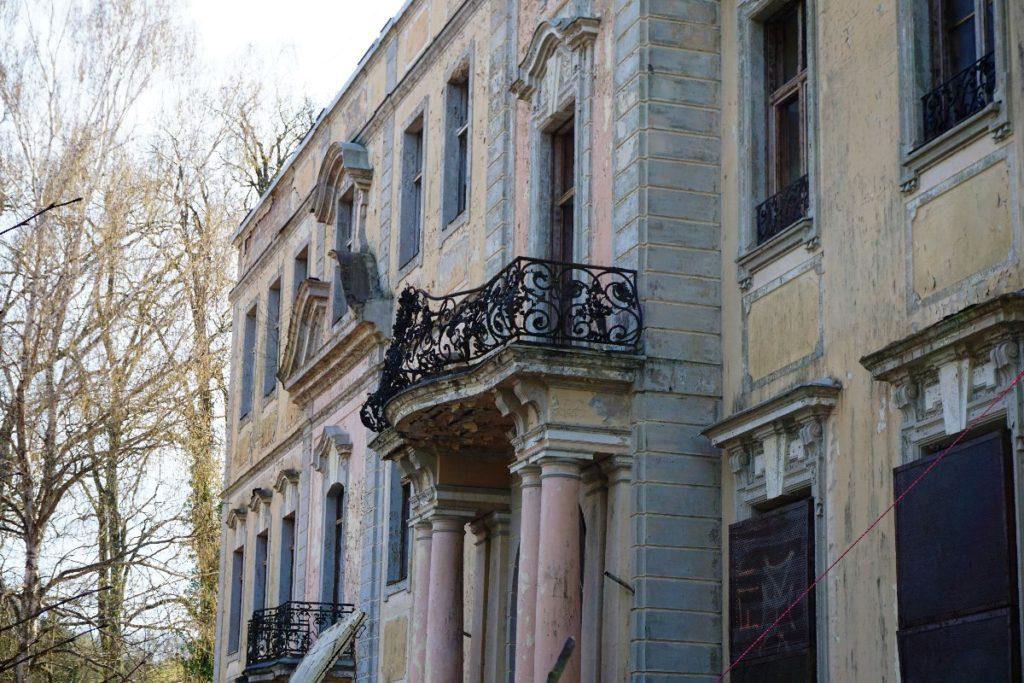 Schloss Dammsmühle Balkon