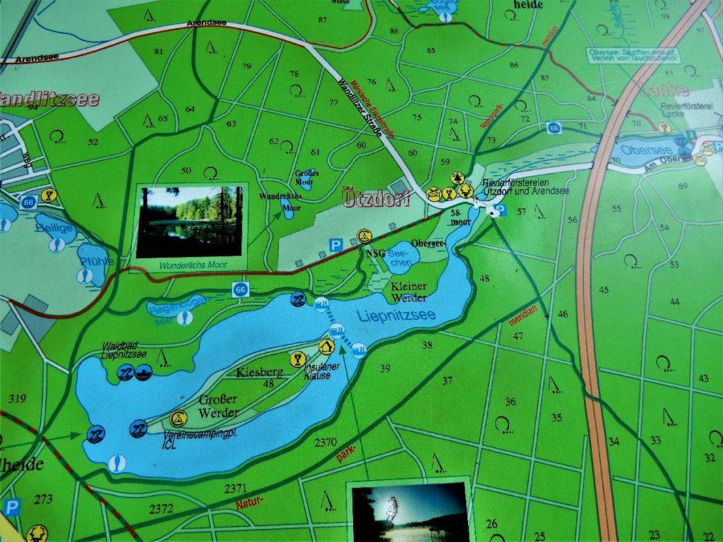Karte Liepnitzsee