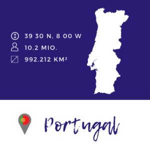 Portugal Karte