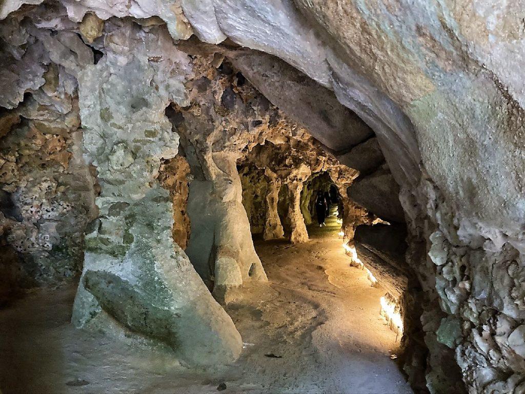 Tunnel auf dem Gelände