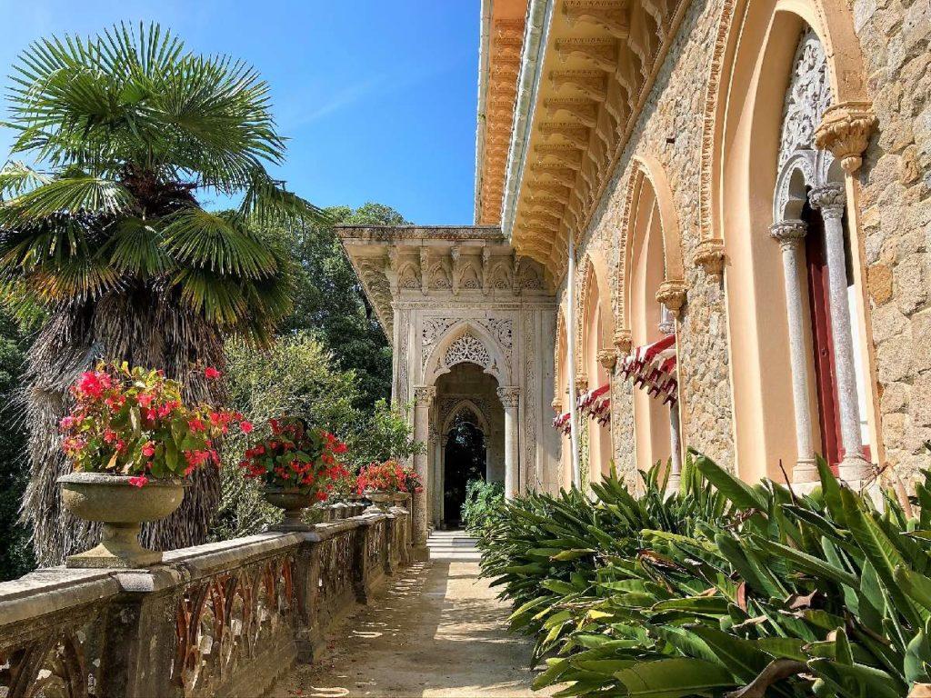 Terasse vom Monserrate Palast