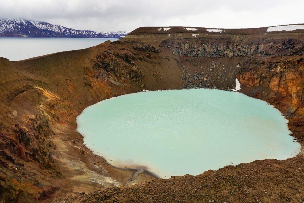Viti Krater in Askja