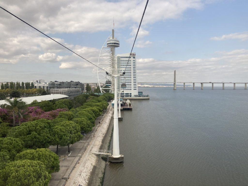 Telekabine Lissabon Parques das Nacoes