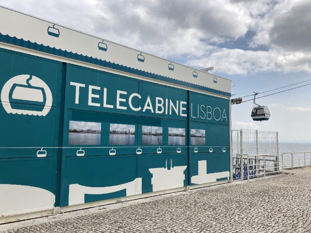 Nordstation Telekabine Lissabon