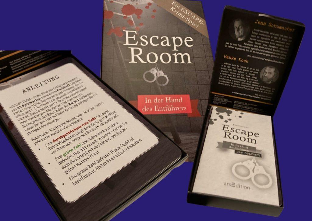 Escape Room Spiel In der Hand des Entführers