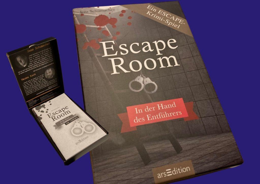 Escape Krimi Spiel In der Hand des Entführers