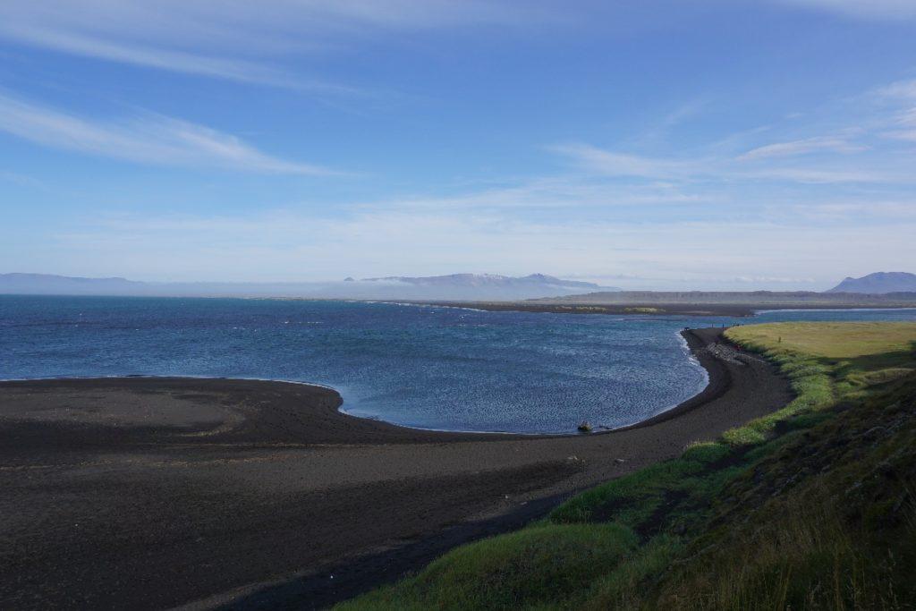 Strand Vatnsnes Halbinsel
