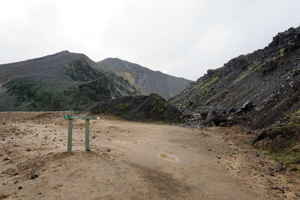 Wanderweg Landmannalaugar