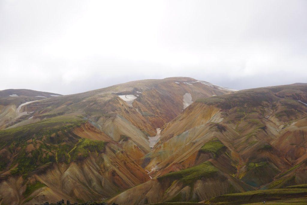 Aussicht Landmannalaugar