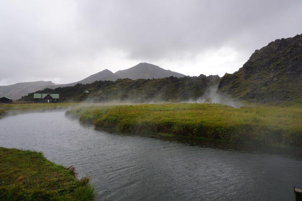 Hütten Landmannalaugar