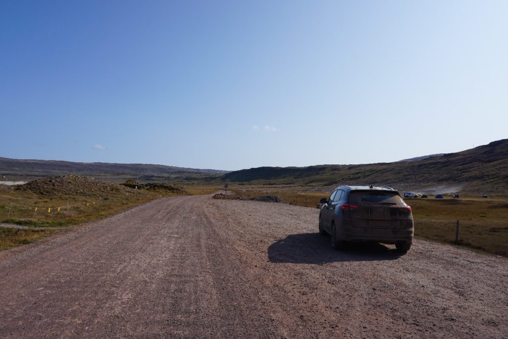 F-Straßen Island, auf dem Weg zum Raudasandur