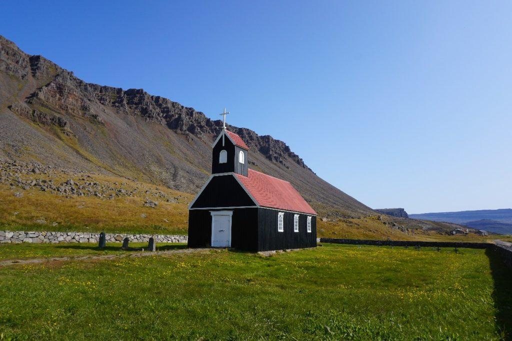 Kirche Saurbaejarkirkja