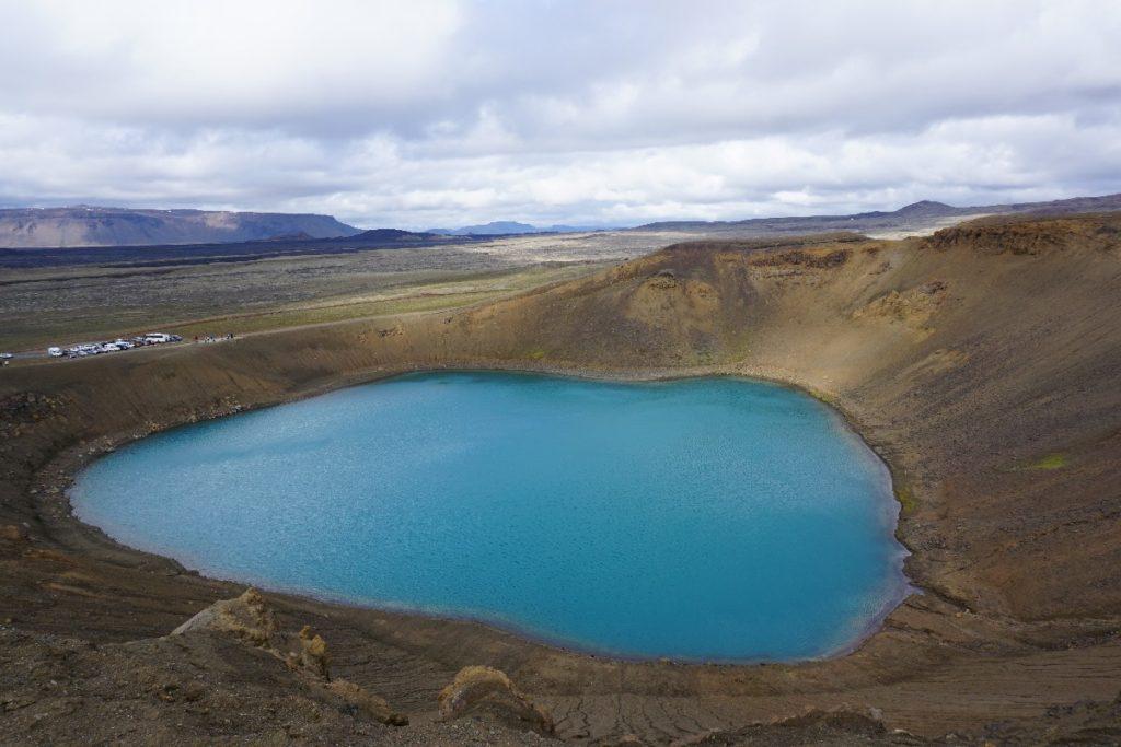 Krafla Vulkankrater Myvatn Region