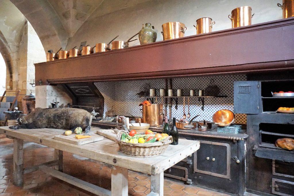 Küche Schloss Vaux le Vicomte