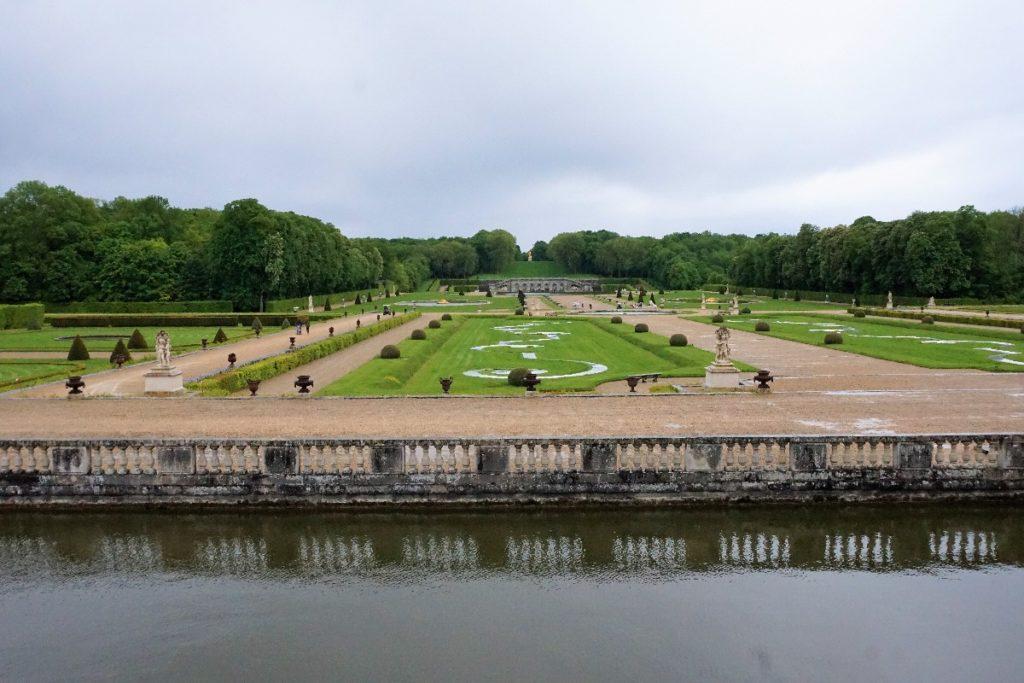 Garten Schloss Vaux le Vicomte