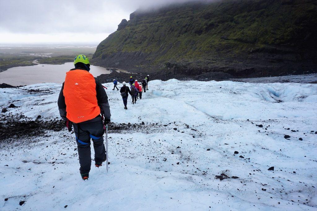 Gletscherwanderung in Island