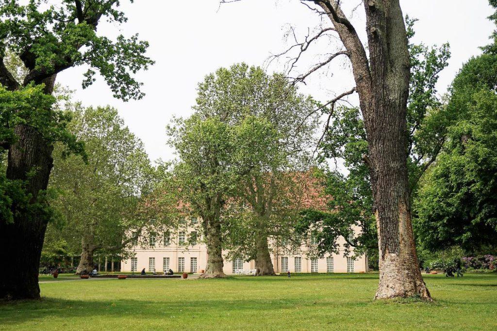 Schlossgarten als Picknick Ort in Berlin
