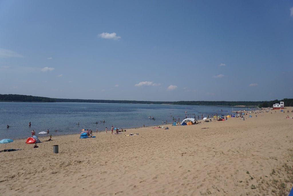 Strand Helenesee Strandurlaub in Brandenburg