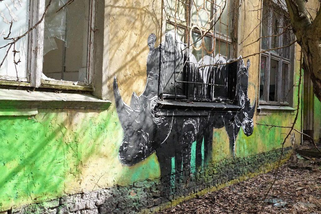 Graffitikunst Kaserne Vogelsang