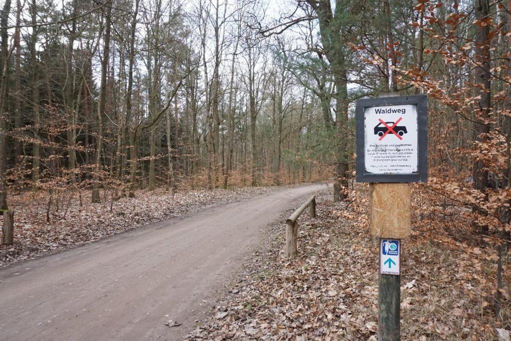 Kaserne Vogelsang Wanderweg