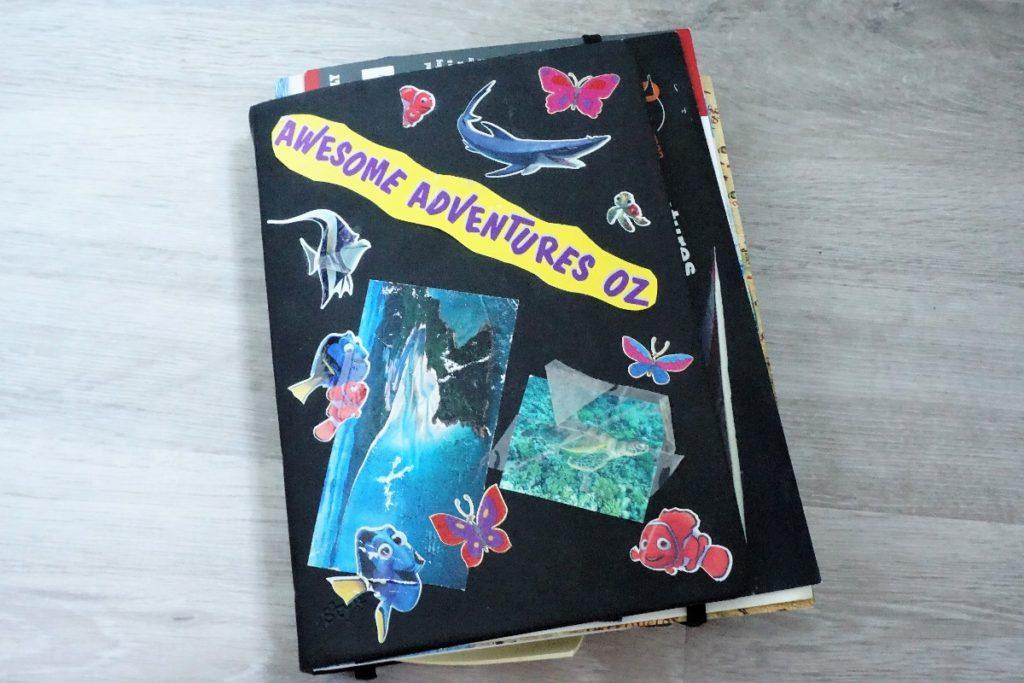 dekoriertes Tagebuch