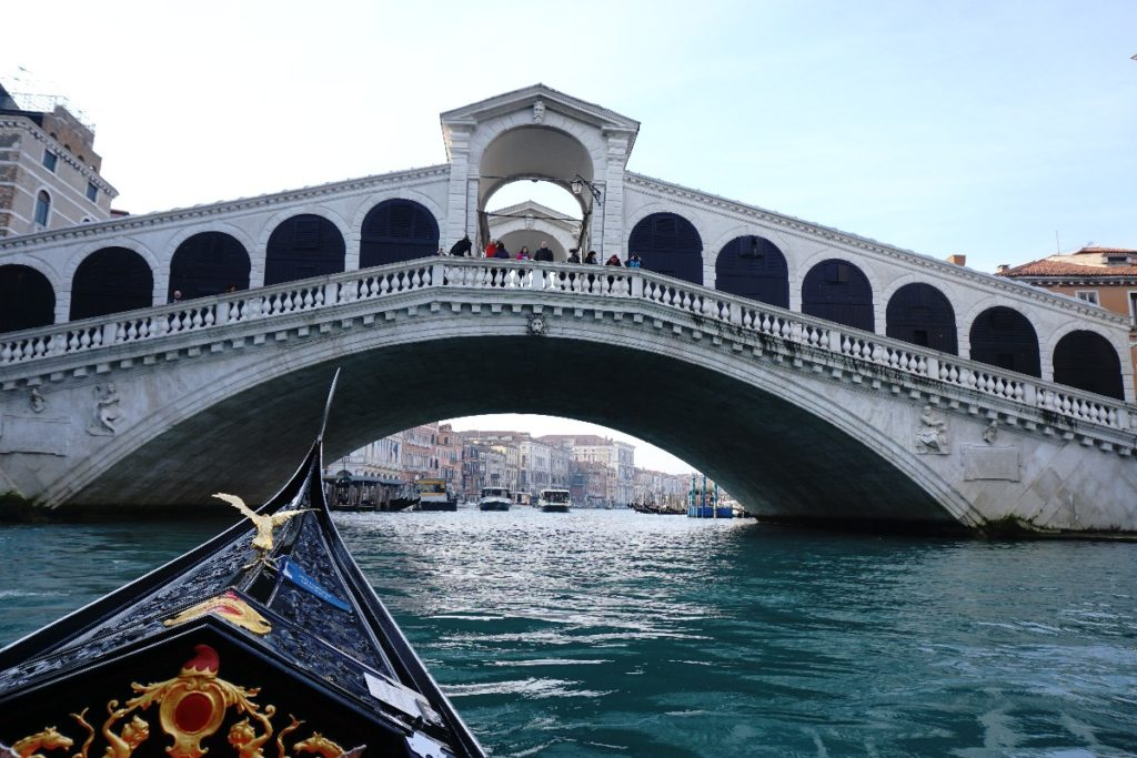 Gondel Rialtobrücke