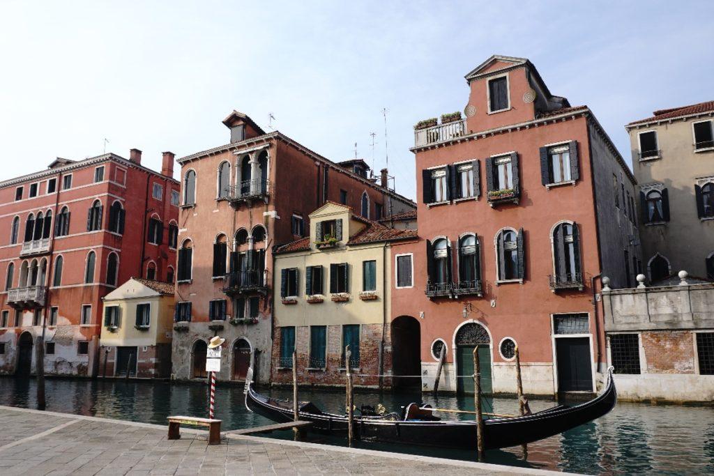 Venedig Gondelfahrt Station