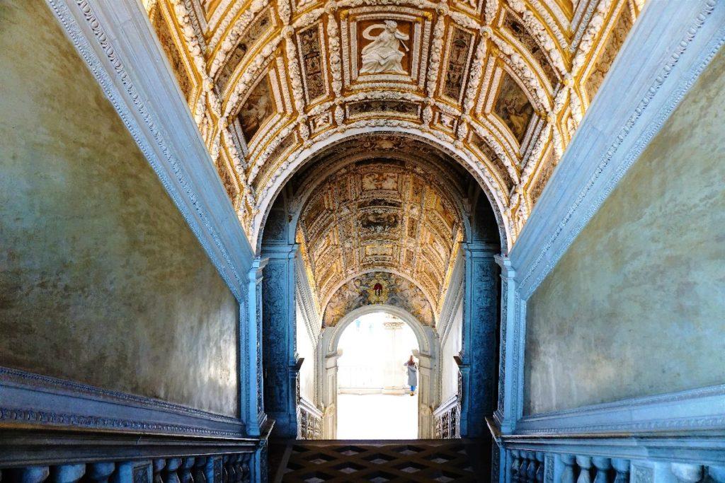 Goldene Treppe im Dogenpalast Venedig