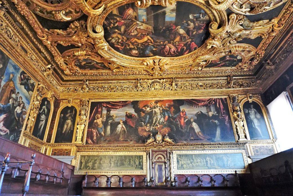 Senatssaal im Dogenpalast Venedig