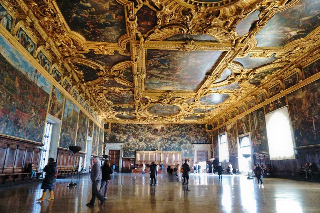 Saal des Großen Rates Dogenpalast