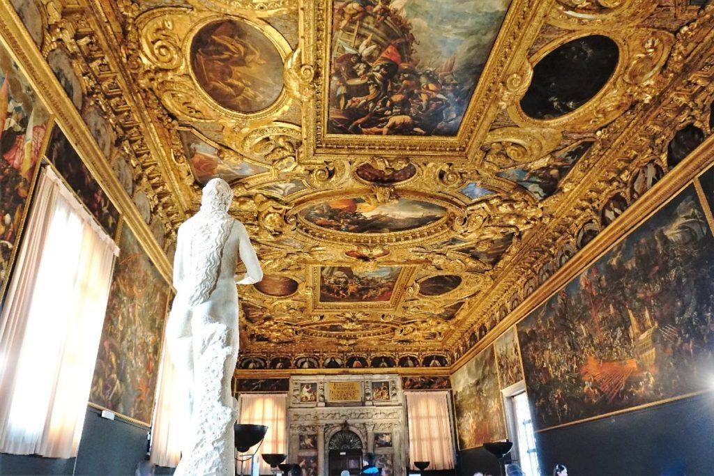 Inneres Dogenpalast Venedig