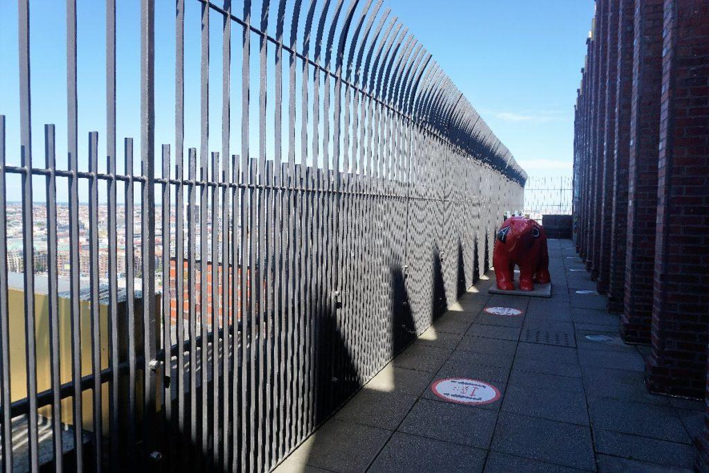 Panoramapunkt Berlin Aussichtssplattform
