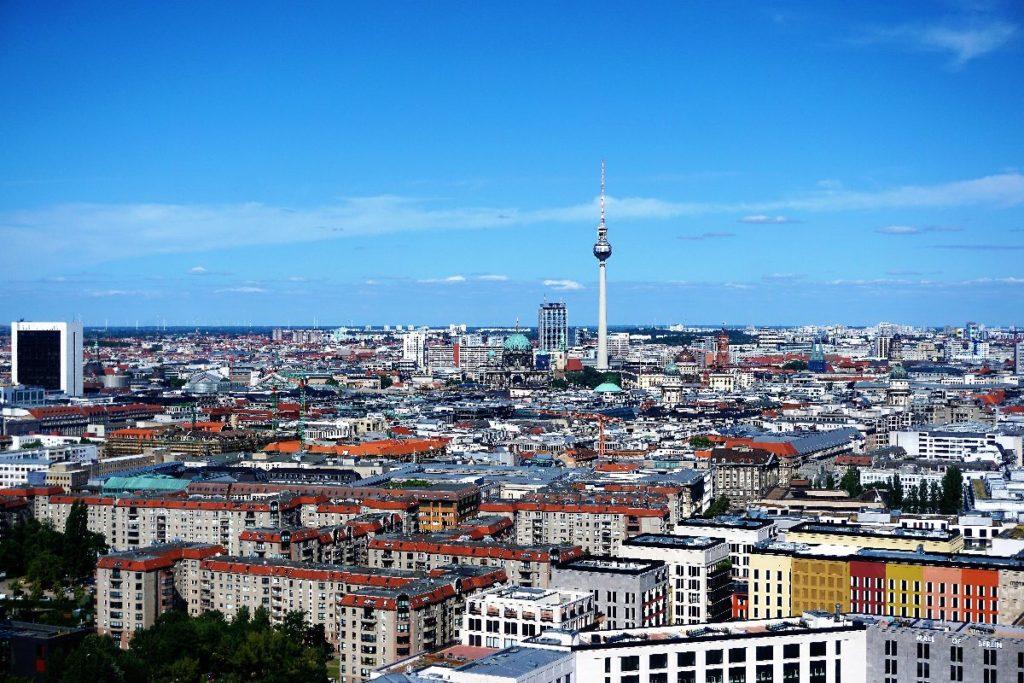 Aussicht Panoramapunkt Berlin