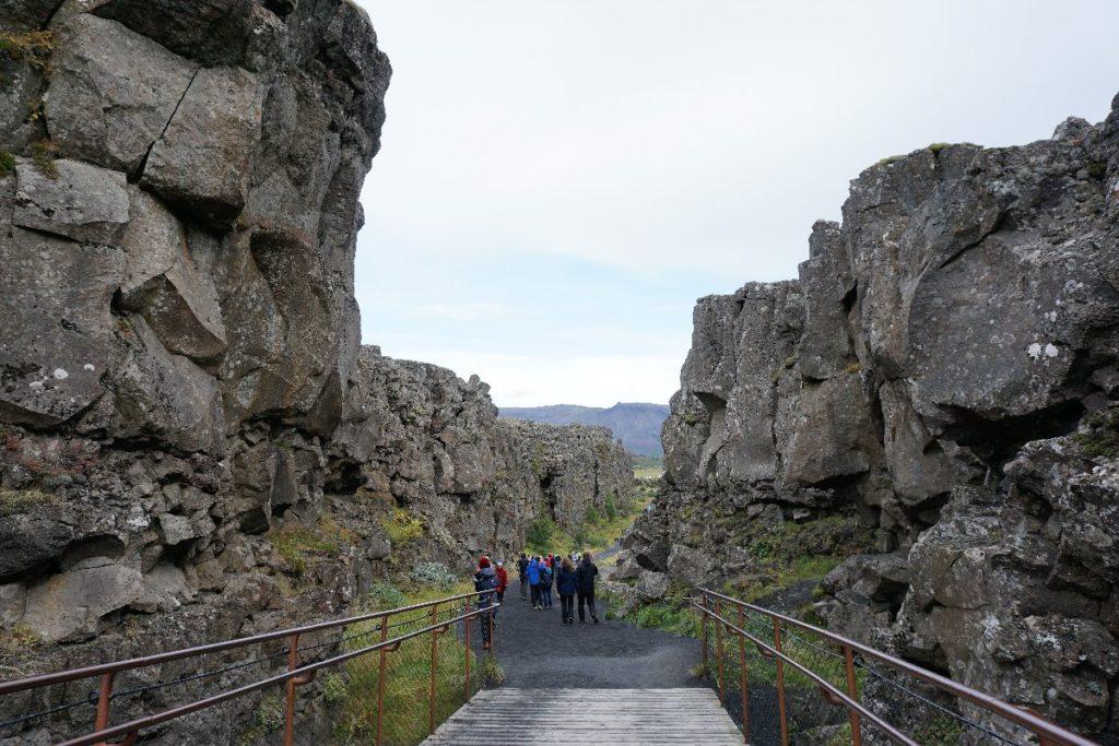Almannagja Thingvellir Nationalpark
