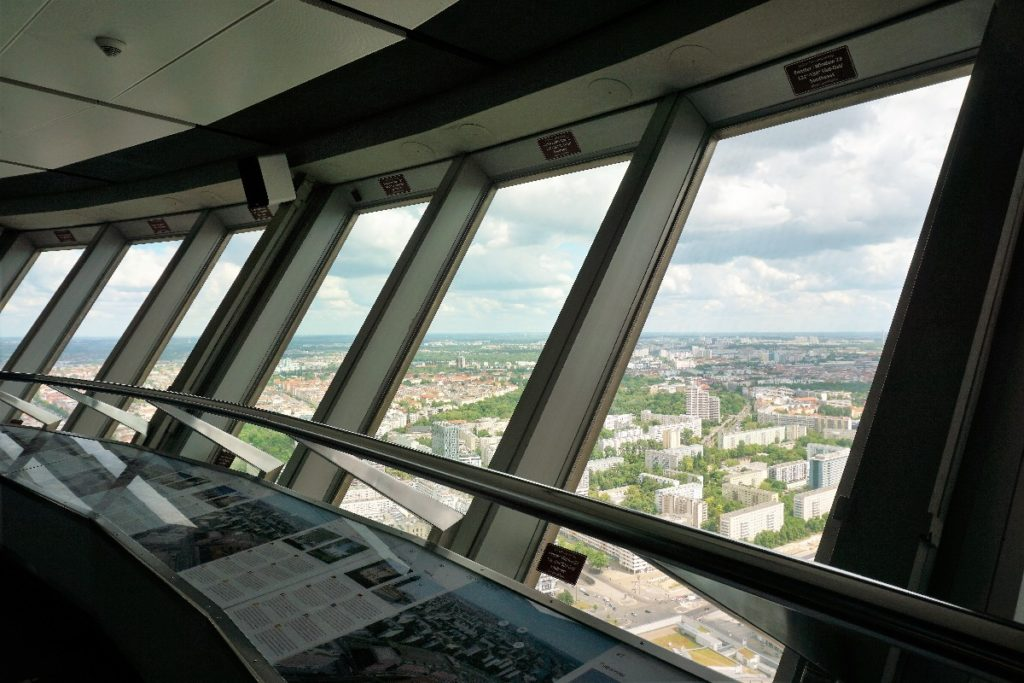 Aussichtsetage Fernsehturm Berlin